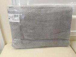 FRETTE 1x BATH Spa Towel SAVONA GREY 100% Egyptian Cotton Po