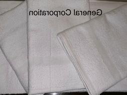 24 New Hand | SPA | Salon | GYM Towel White 16×27 inch Blen