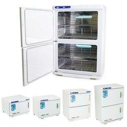 2in1 Hot Towel Warmer Cabinet UV Sterilizer Spa Massage Salo