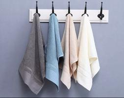 1 Luxury Hand Towels Soft 100% Cotton,16x27 inches, for Salo