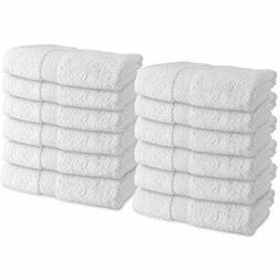 Admiral White Hand Towels For Bathroom  Spa,