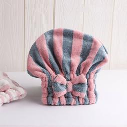 Hair Dry Cap Salon Towels  Super Absorbent Quick-drying Micr
