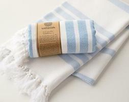 Handmade Cotton Beach Towel Spa Towel Turkish Towel Rhodes
