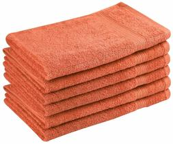 High Quality 6 Pack Cotton Salon, Hand, Gym, Spa Towels Larg