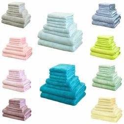 Hotel & Spa 8PCS Towels Set Bathroom Face Hand Bath Towels B