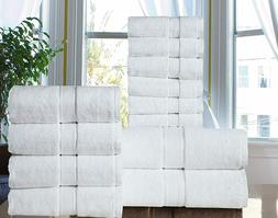 Hotel - Spa Quality Long Stapled 100% Cotton 600 GSM  12PC B