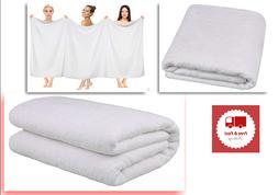Jumbo Size Towel 40x80 Inches Turkish Spa Cotton Bath Sheet