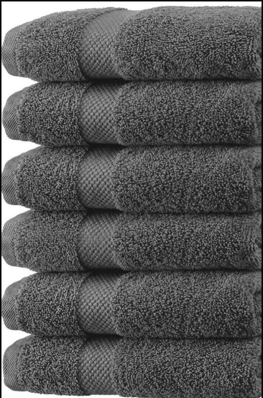 6 12 white bath towel 24x48 100