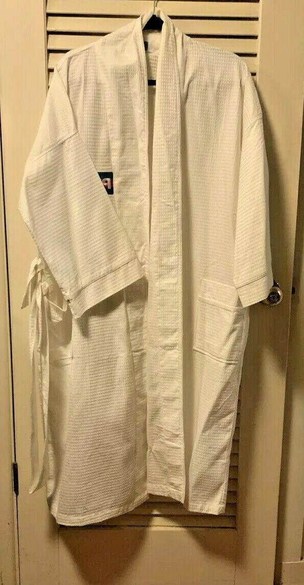 new towels plus robe waffle weave cotton