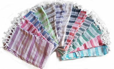 set of 3 turkish towel peshtemal foutas