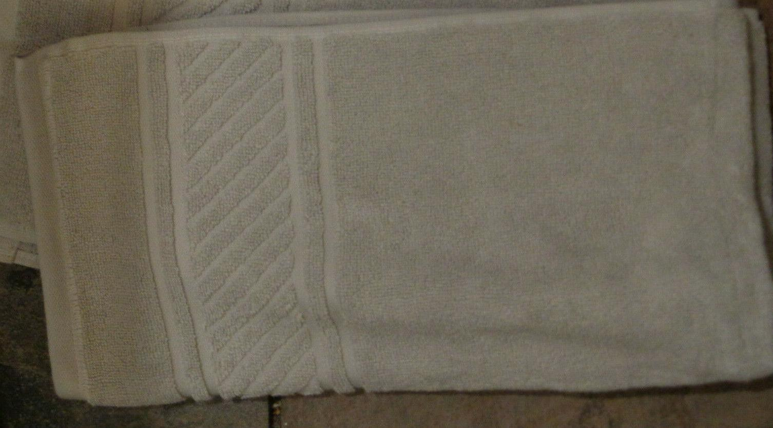 spa jacquard border silver pearl hand towel