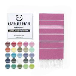 Havluland Extra Large Beach Pool 100% Turkish Cotton Towel 7