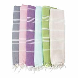 Lotus Extra Large Beach Pool 100% Turkish Cotton Towel 70''