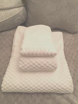 Luxury 100% Turkish Cotton High End Spa Bath Towel 3 pc Set