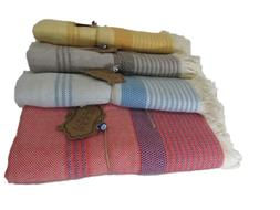 Luxury Beach Turkish Peshtemal Towel 100% Cotton for Beach B