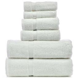 Luxury Hotel & Spa Towel 100% Genuine Turkish Cotton 6 Piece