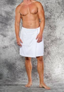 Men's 100% Cotton Terry Velour Cloth Bath Towel Body Wrap Sp