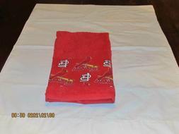 Handmade MLB St Louis Cardinals Hand Towels