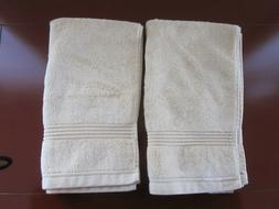 NEW HOME SPA Set of 2 Egyptian Cotton Hand Towels 14 X 26  P