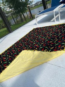 Personalized Beach Pool Spa Yoga Towels Handmade in High Qua