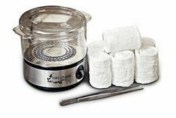 Portable Salon Spa Facial Hot Towel Steamer Kit w/ 6 Towels