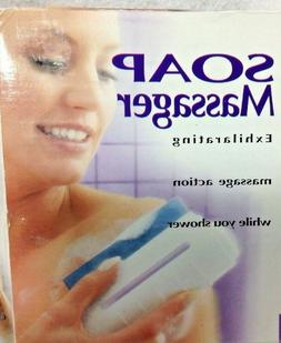 Soap Massager Homedics Spa Glycerin Apple Couples Terry Towe