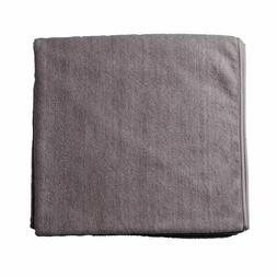 Bucky Spa Bath Towel in Steel Grey