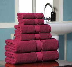 100 % Cotton 600 GSM SPA - Hotel Quality Bath Towels Super S
