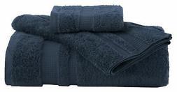 Supima Luxe Bath Towel Set Spa, 100% Cotton, Machine washabl