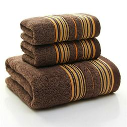 Thicker Stripe Pattern Soft Cotton High Quality Printe Bath