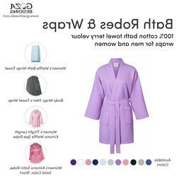 towels women s thight length kimono waffle