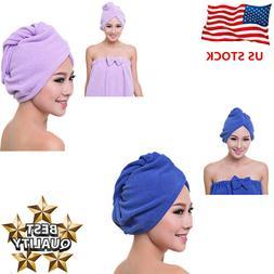 Turbie Twist Hair Towels Microfiber Quick Dry Magic Wrap Hat