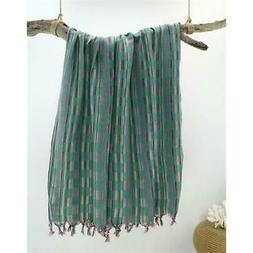 Turkish Cotton Peshtemal Towel Fouta for Beach Bath Spa Yoga