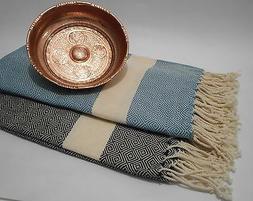 TURKISH HAMMAM HAMAM PESHTAMAL PESHTEMAL COTTON BATH TOWEL S