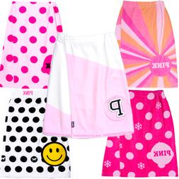 Victoria's Secret PINK BATH TOWEL SPA WRAP PINKMAS SNOWFLAKE