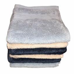 Threshold Washcloth Hand Towel Set Lot of 6 Blue Spa Peach M